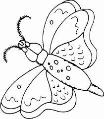 coloriage de papillon à imprimer