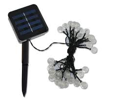 Outdoor Fairy Lights Australia by Super Bright Solar Outdoor String Lights 20ft 30 Led Colorful