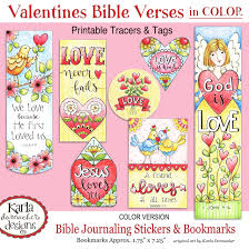 valentine love u2013 full color u2013 bible journaling printable collection