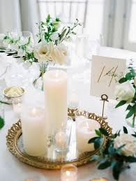 candle wedding centerpieces 20 wedding centerpieces with candles for 2018 trends