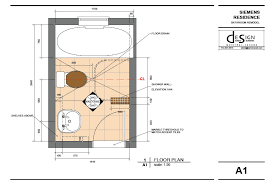 Perfect Small Bathroom Plan Floor Plans Inside Design - Small bathroom layout designs