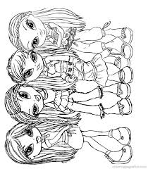 baby bratz coloring pages exprimartdesign