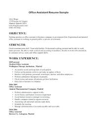 assistant resume templates office assistant resume templates sle of beautiful
