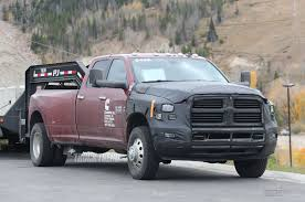 Dodge Ram Truck 6 Cylinder - spied 2018 ram 2500 3500 heavy duty with updated cummins