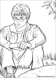 16 books hp coloring pages images coloring