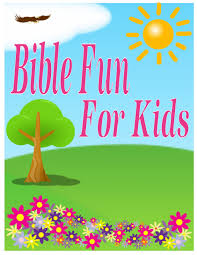 bible fun for kids march 2013