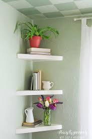 Corner Shelving Bathroom Remarkable Bathroom Best 25 Corner Wall Shelves Ideas On Pinterest