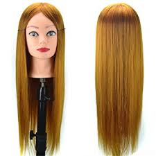 hairstyles to do on manikin amazon com alay me manikin hairstyle practice head with 20 inch