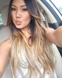 asian hair color trends for 2015 blonde hair for asian skin tones popsugar beauty australia photo 12