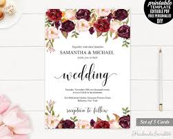 invitation wedding template 255 best wedding invitations images on invitation