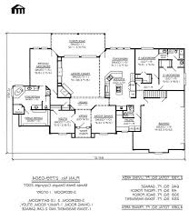 bedroom ranch house floor plans com with 3 country luxihome