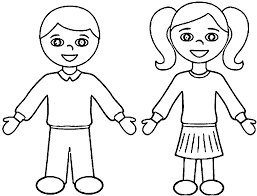 a boy coloring pages virtren com