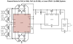 lt4321 poe ideal diode bridge controller linear technology