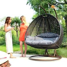 Swinging Patio Chair Hanging Patio Furniture Great 2 Seat Wicker Hanging Swing