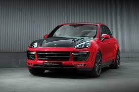 Porsche Cayenne Body Kit - porsche cayenne topcar gt 958 2 red gts modcarmag