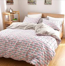 luxury elephant bedding set king size cotton fitted