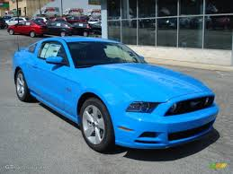 2013 mustang gt blue grabber blue 2013 ford mustang gt coupe exterior photo 63909243