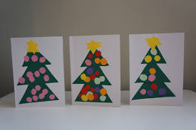 christmas tree card craft christmas activities and ideas homemade