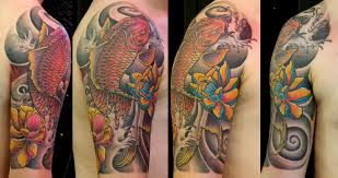 japanise koi fish tattoo dragon tattoo studio istanbul flickr
