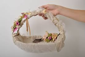 corbeille mariage madeheart panier mariage fait corbeille osier pour fleurs
