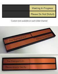Do Not Disturb Desk Sign Sliding Office Door Signs Sliding Office In Use Sign Office Signs