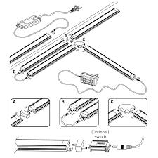luceco pir movement sensor for led under cabinet strip lights