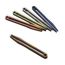 edc titanium mini tweezers trumpet outdoor cing travel home edc