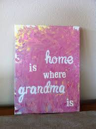 gifts for grandmothers gift idea place letter stickers on canvas and then let