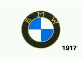 bmw logo evolution logo design