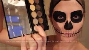 Halloween Skull Makeup Tutorial 2016 Easy Skull Makeup Halloween Misscharlotte Make Up Tutorial