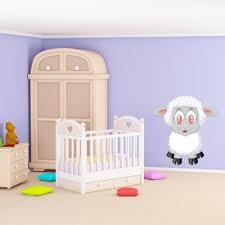 stickers mouton chambre bébé sticker bébé mouton pour déco chambre bébé