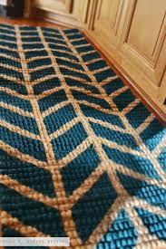 creative of herringbone runner rug jute chenille herringbone rug