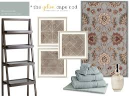 the yellow cape cod using a rug to choose wall color