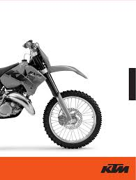 ktm motorcycle exc 200 exc user guide manualsonline com