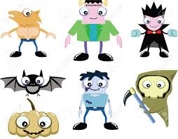 halloween clipart ghost cute ghost in halloween include dracula frankenstein werewolf