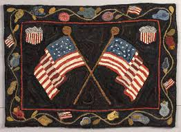 American Flag Rugs Hooked Rugs Gone Hook U0027in Pinterest Flags Punch