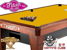 Championship Billiard Felt Colors Move Championship Titan Brite Cloth