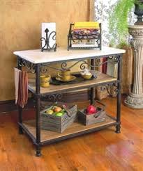 wrought iron kitchen island kitchen carts islands and workstations