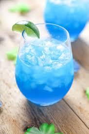 blue lagoon cocktail blue margaritas baking beauty