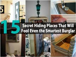 Bedroom Hide Small Refrigerator 15 Secret Hiding Places That Will Fool Even The Smartest Burglar