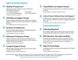 grieving the loss of a child center for grief healing hinds hospice