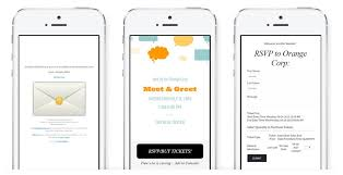 online invitations with rsvp online invitations ticketing text message invites from sendo
