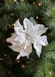white poinsettia snowy white poinsettia artificial christmas flowers afloral