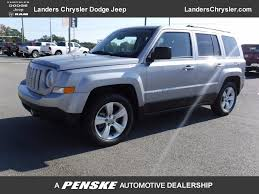 2015 used jeep patriot latitude 1 owner at landers chevrolet