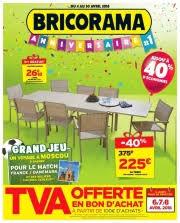 siege social bricorama bricorama catalogue à villiers sur marne brochure avec promotions