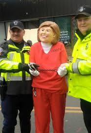 president halloween mask mass cop apologizes for hillary clinton pic in halloween u0027joke