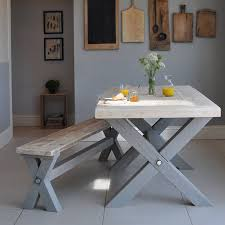Reclaimed Timber Dining Table Reclaimed Timber Refectory Dining Table By Home Barn