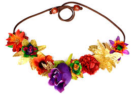 mardi gras headbands gras flower headband floral headpiece hippie halo unique purple