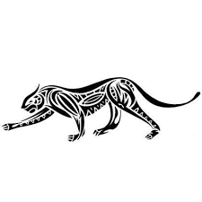 stalking tribal jaguar tattoo design tattoowoo com