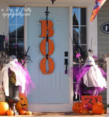 Halloween Decoration Ideas Home Front Porch Halloween Decoration Ideas Unac Co